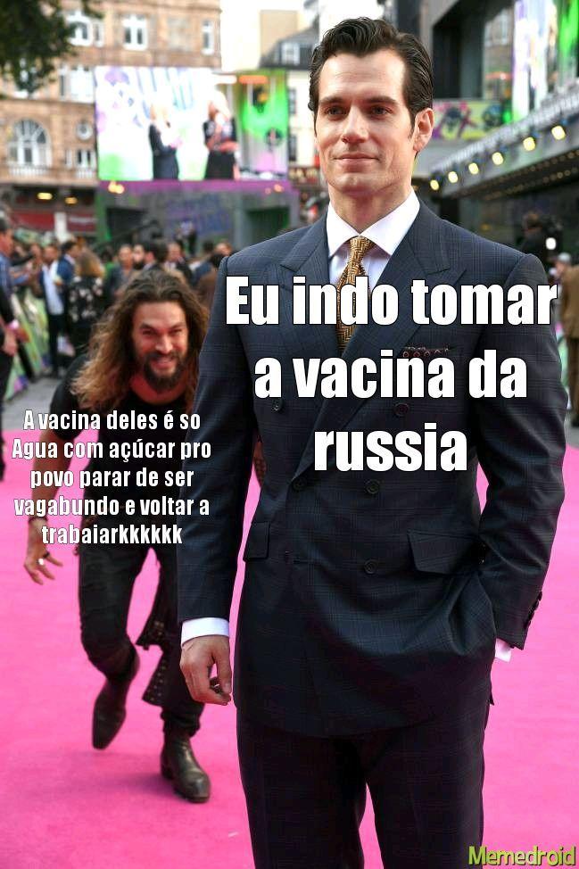 Vacina aguinha com açúcar gelada hummmmmm - meme