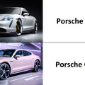 ''But boss, it's an electric car, I can't put in a turbo.'' The boss: ''Just do it.'' -> Porsche Taycan Turbo S