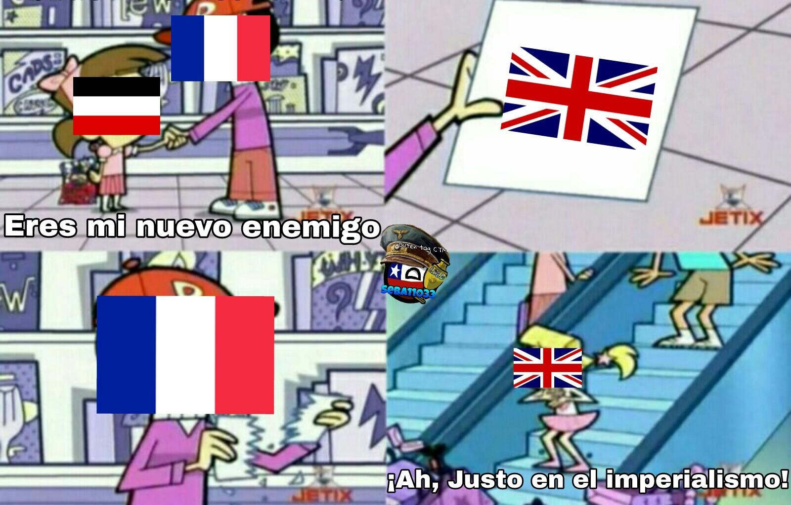Post Guerra franco-prusiana - meme