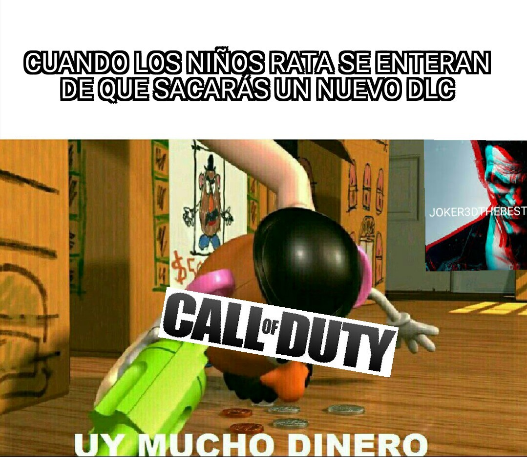 Típico del viejo call of duty - meme