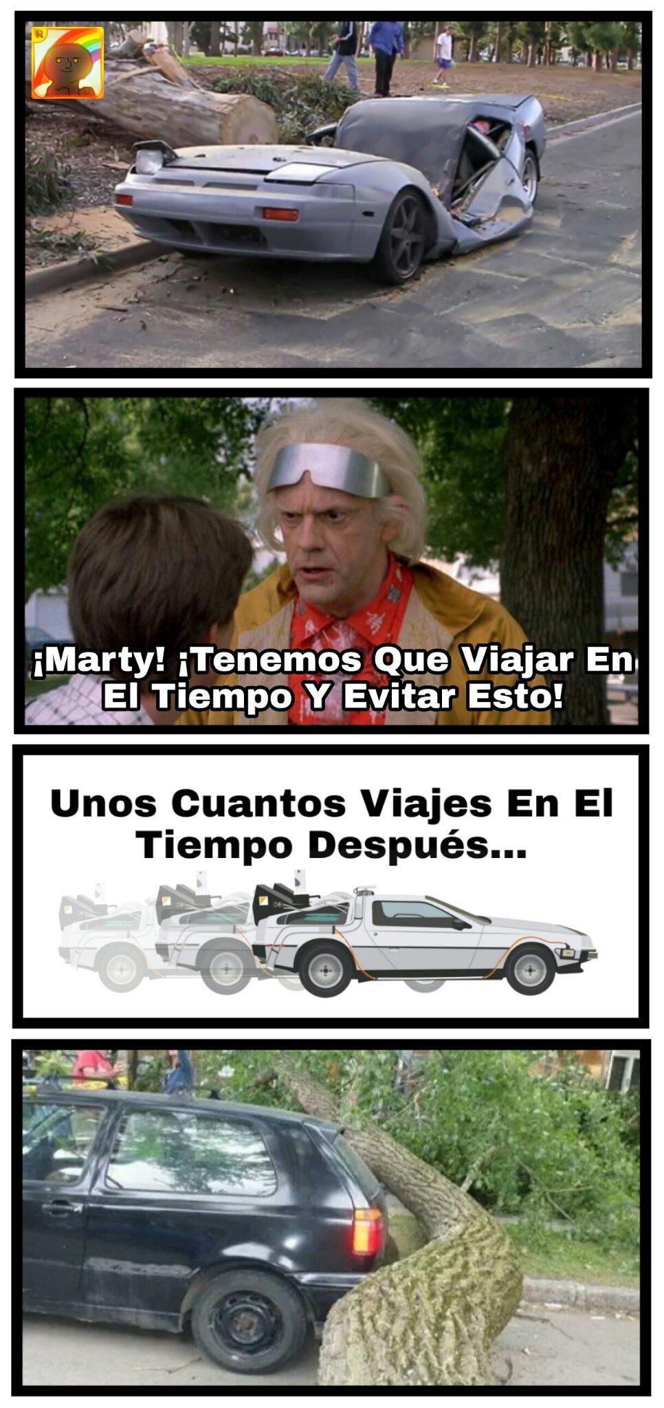 Viaje Por El Tiempo - meme