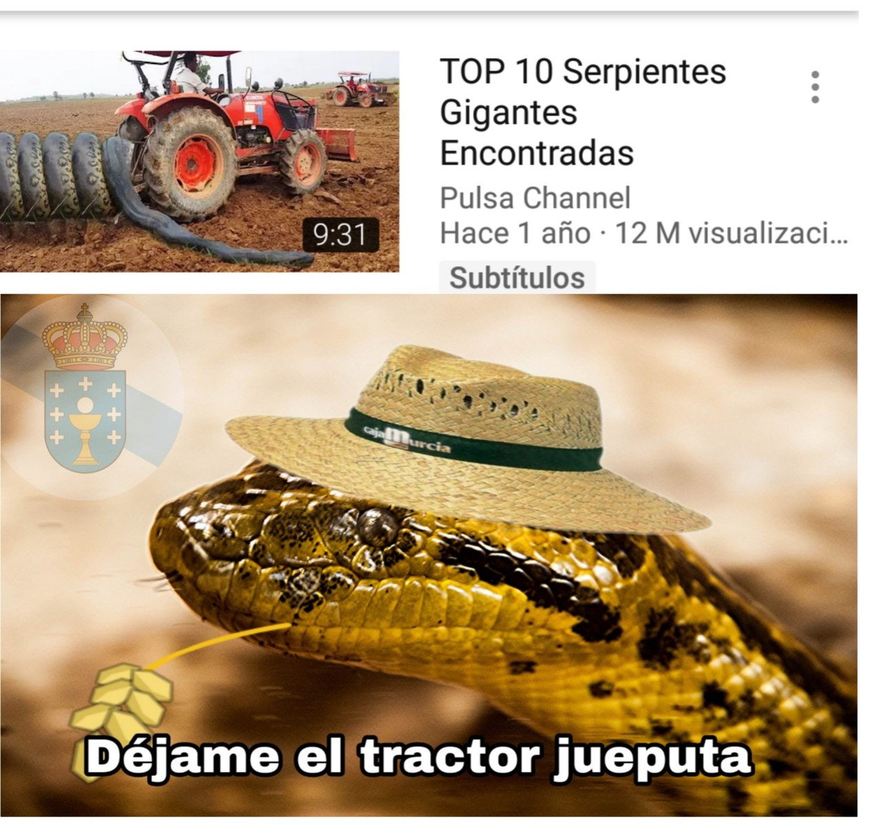 JÁ - meme
