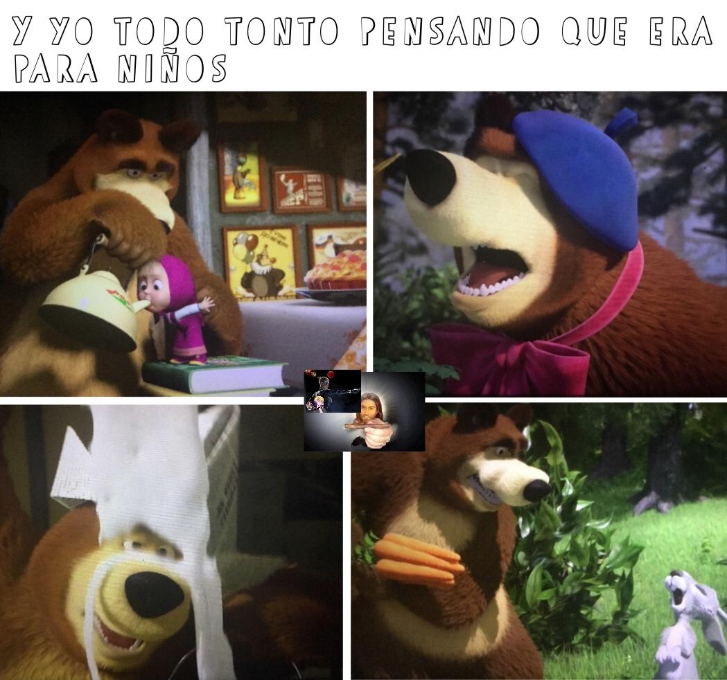 ira lo al oso es un doble cara jsjsjsjs - meme