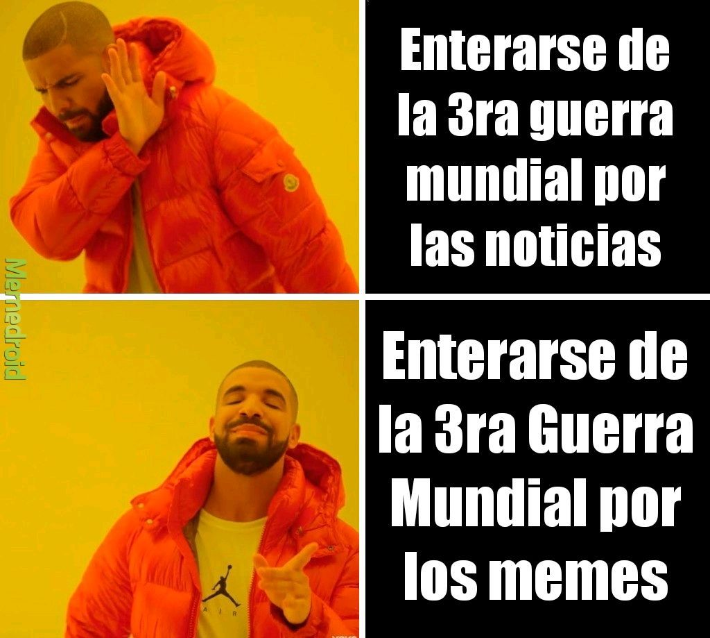 3ra guerra mundial meme