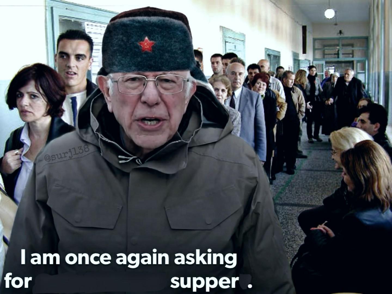 """Bernie """"Breadline"""" Sanders - meme"""
