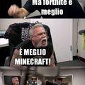Minecraft e.... Lo sapete