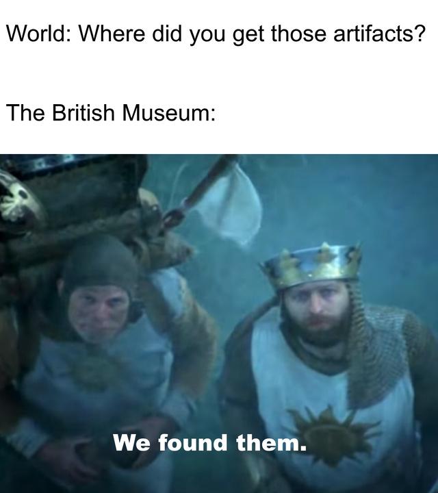 British Museum - meme