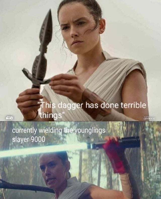 Youngling slayer 9000 - meme