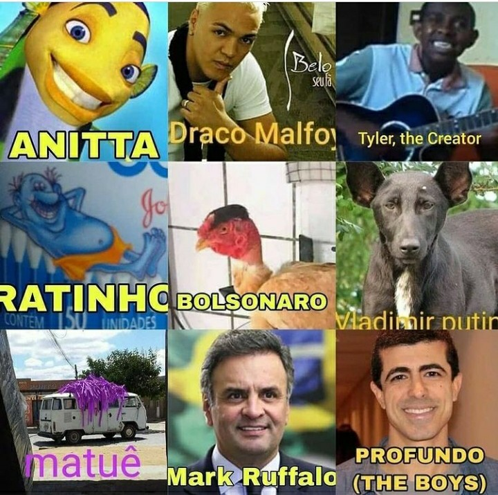 O Brasil realmente é uma terra abençoada - meme