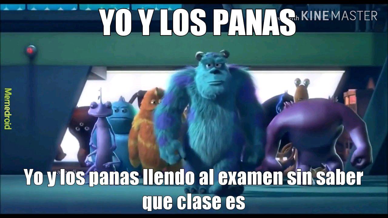 YO Y LOS PANAS - meme