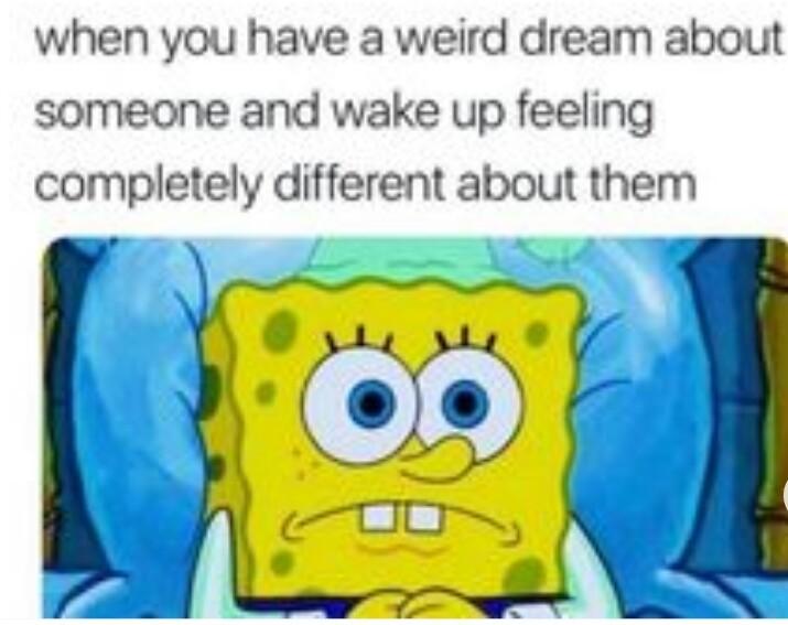 Yeah that feels weird - meme
