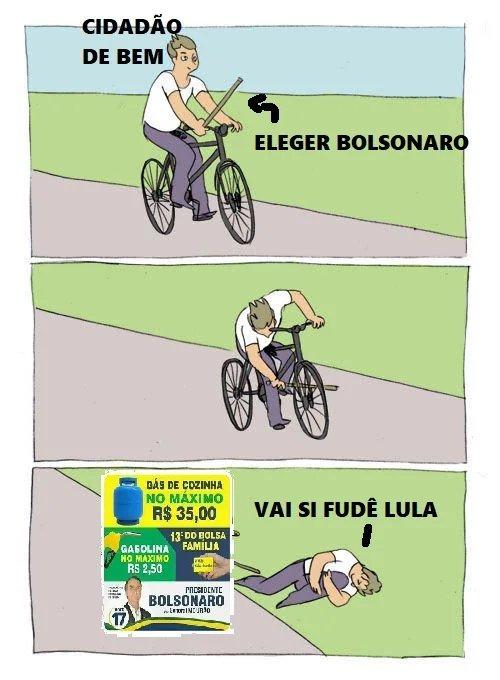 Gás 35 reais - meme