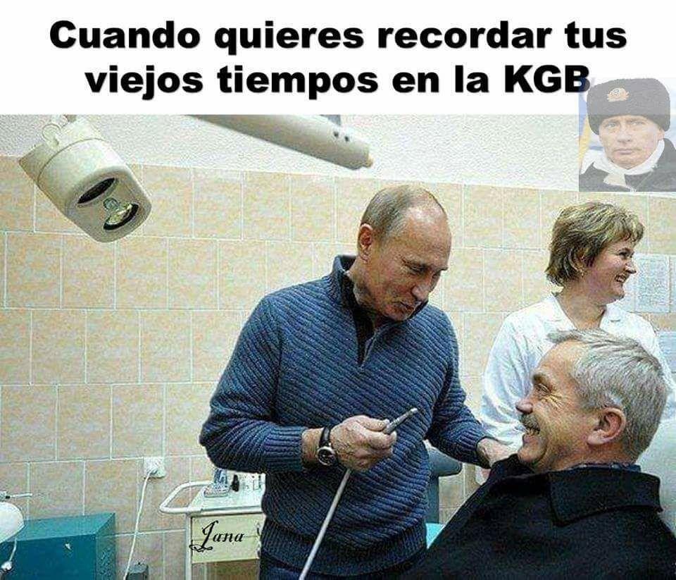 Putin sapeeee - meme