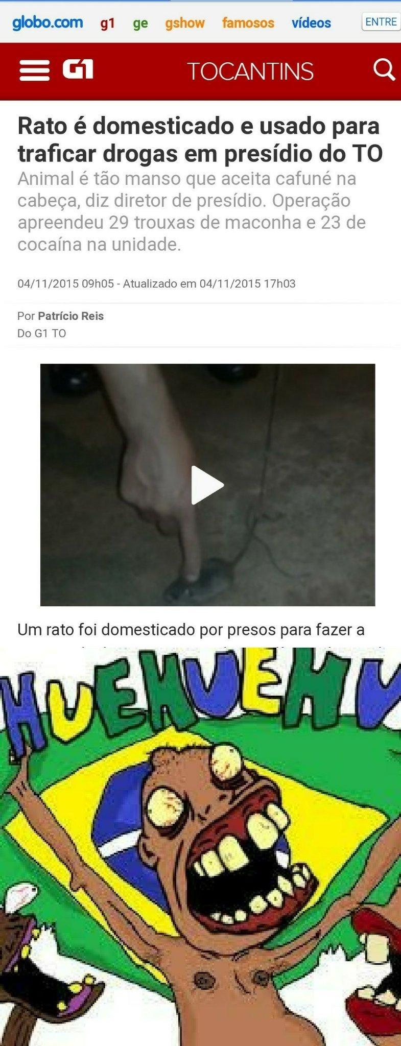 Brasil não tem limites - meme