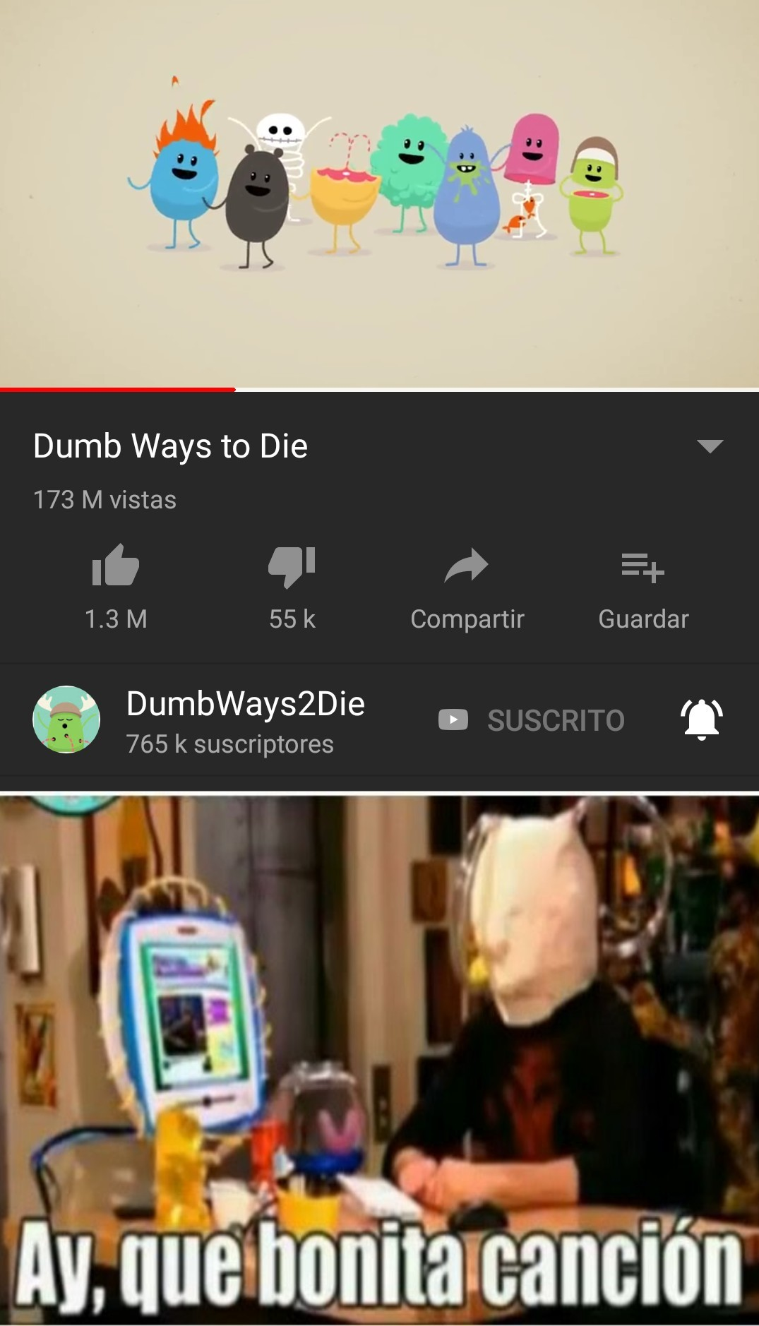 Dumb ways to die - meme
