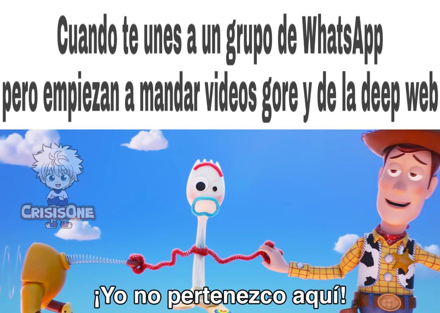 Grupos de WhatsApp - meme