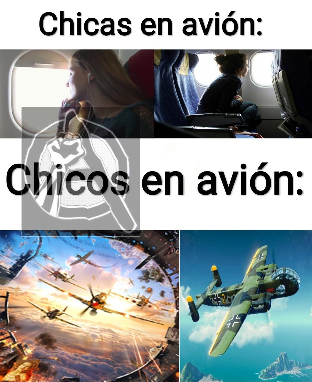 Avión - meme