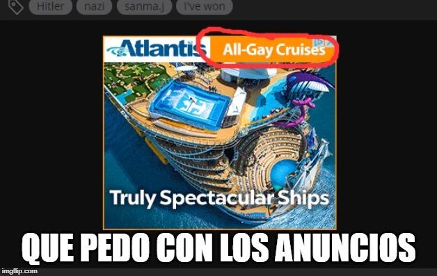 Crucero de gais - meme
