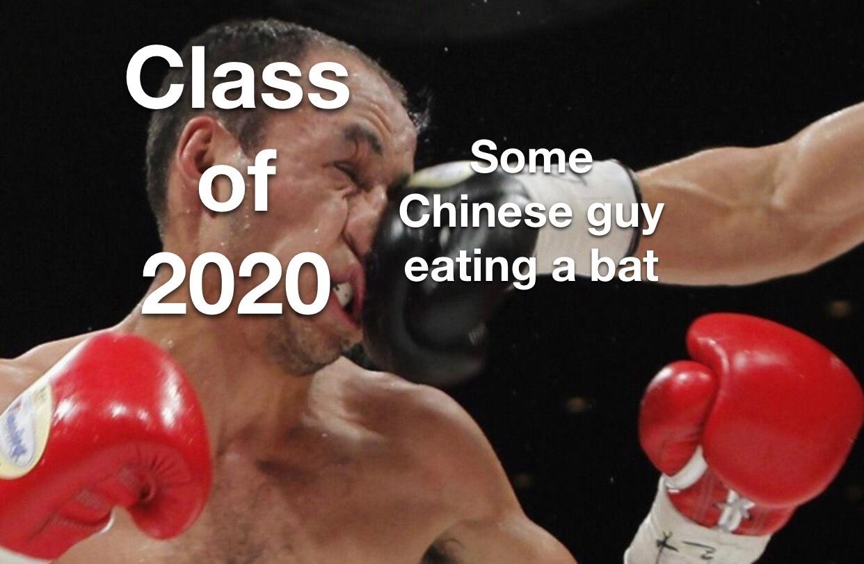 class of 2020 - meme