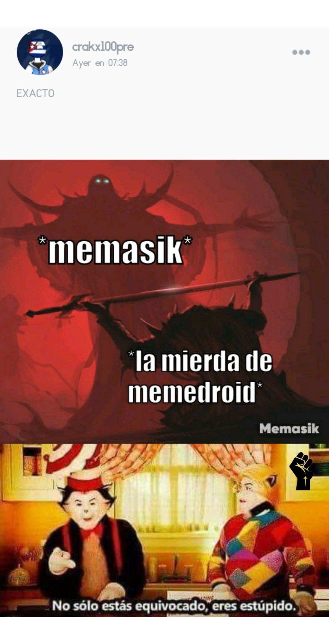 Pensé que memasik no era tan malo, pero casi no paro de vomitar - meme