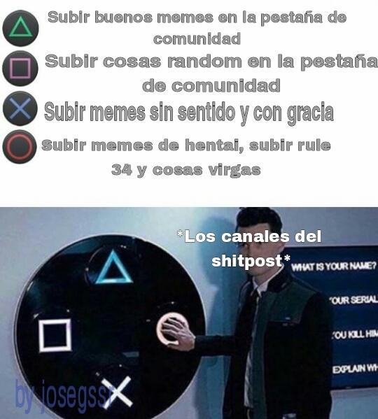 Los canales de shitpost be like: - meme