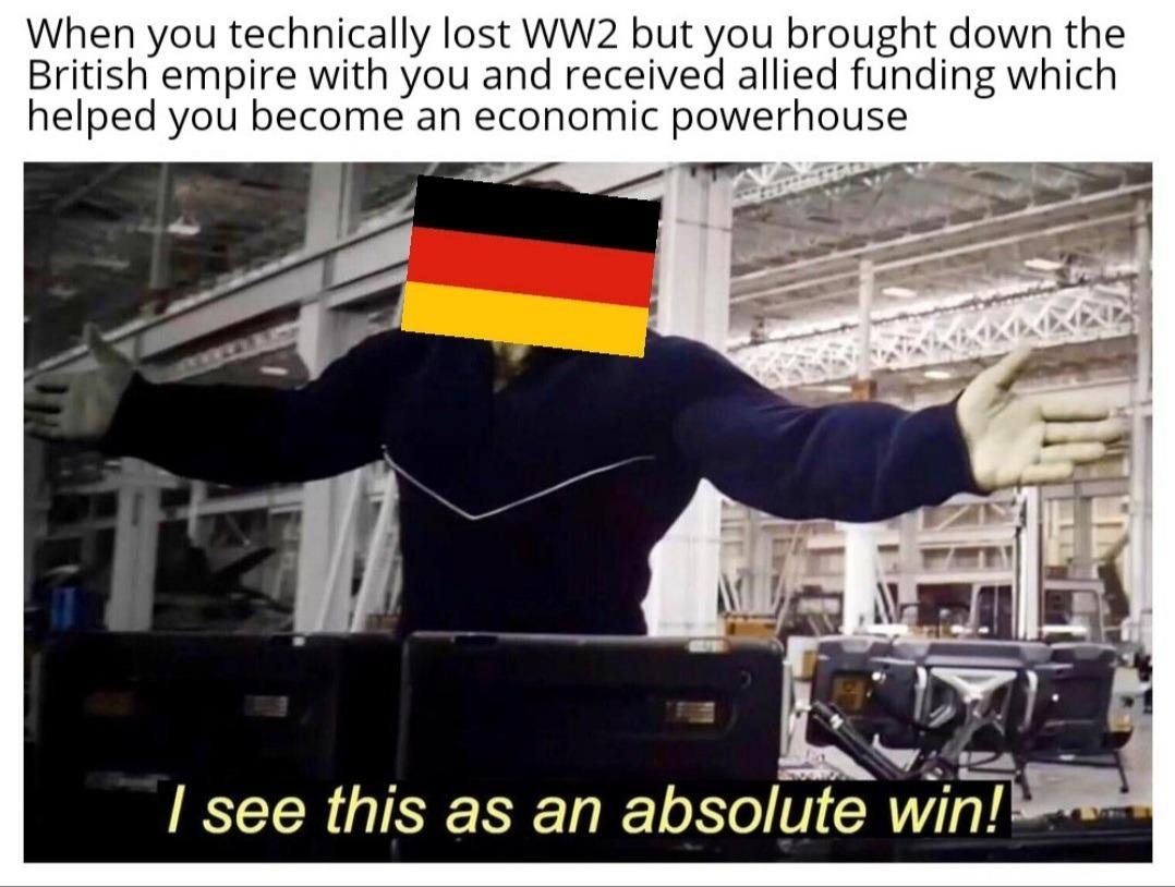 Le Marshall Plan has arrived - meme