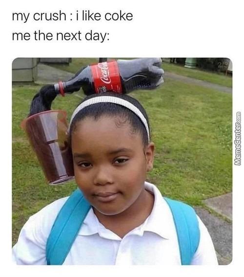 i like coke - meme