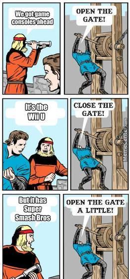 I love every single fooking smash game - meme