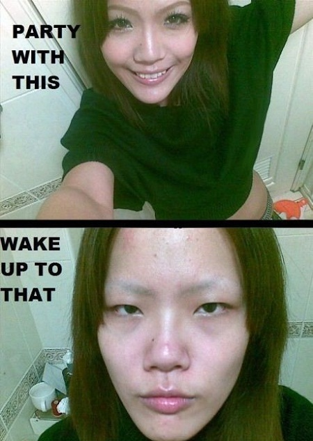 Makeup level : asian - meme