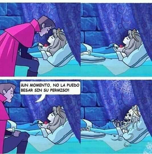 Y la princesa murió - meme