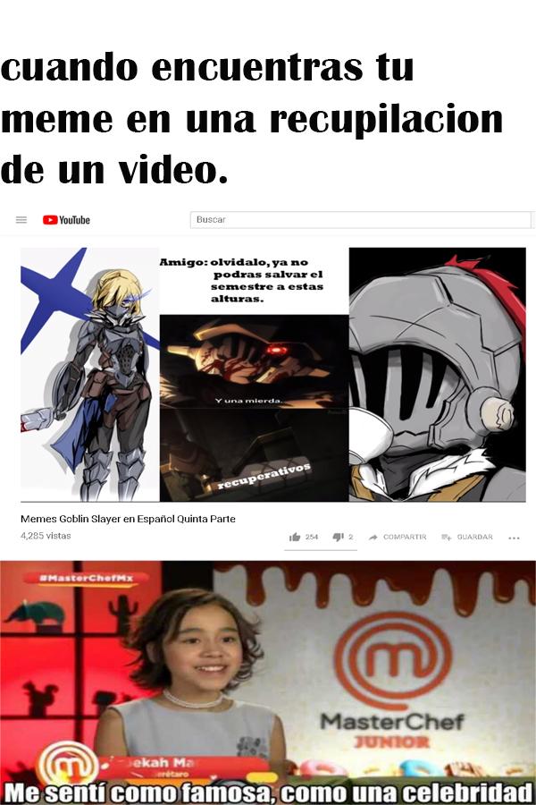 no me lo esperaba cuando vi el video XD - meme