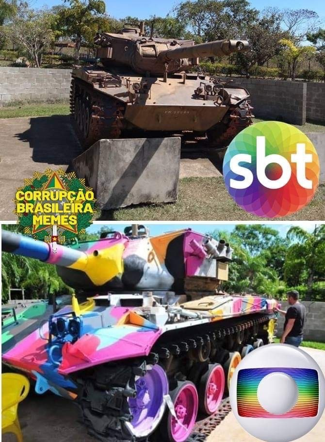 Globo, a emissora dos Ifuners - meme