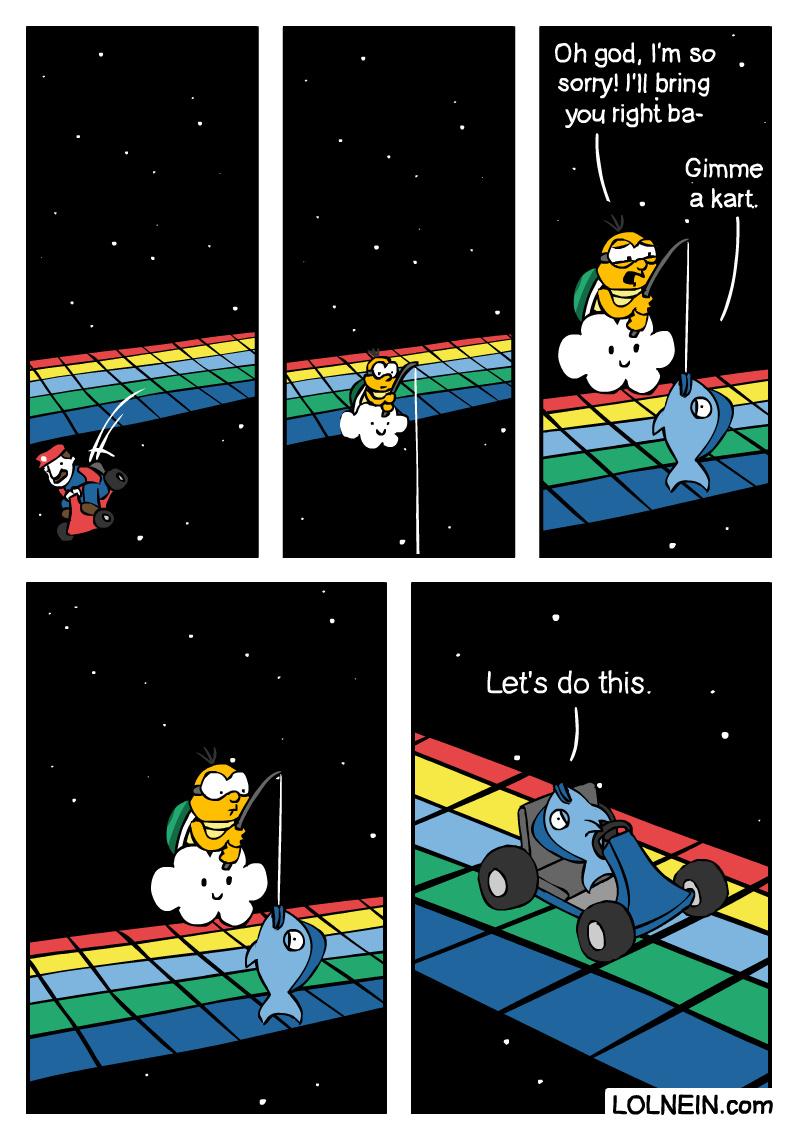 Mario Kart - meme