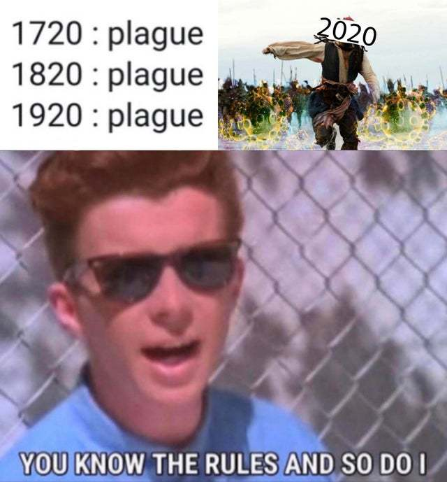 It's time for a new plague - meme
