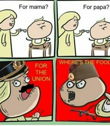 Por la union - meme