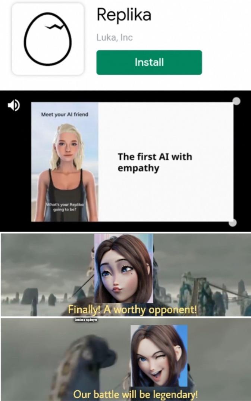 Hot AI Fight! - meme