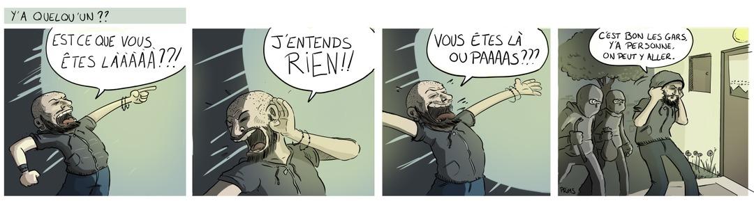 L'entrée des artistes - meme