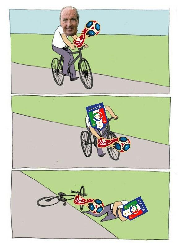 Mondiale 2018 Italia - meme