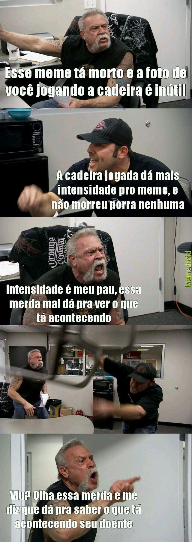 Pelo menos meme morto é melhor q meme da sam