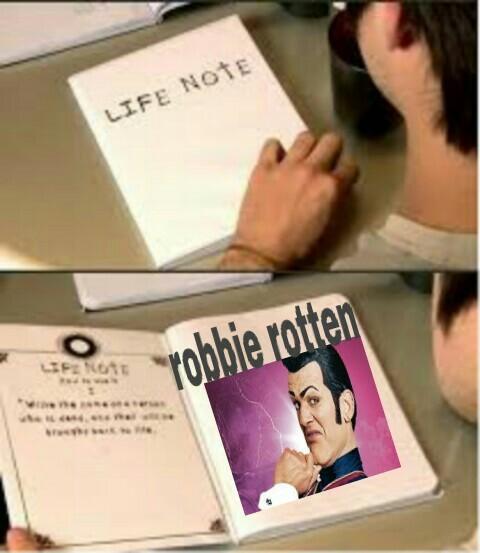 Robbie :c - meme