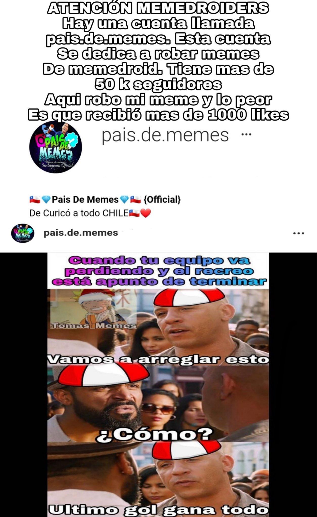 REPORTARLO OARA QUE NO SUCEDA ESTO - meme