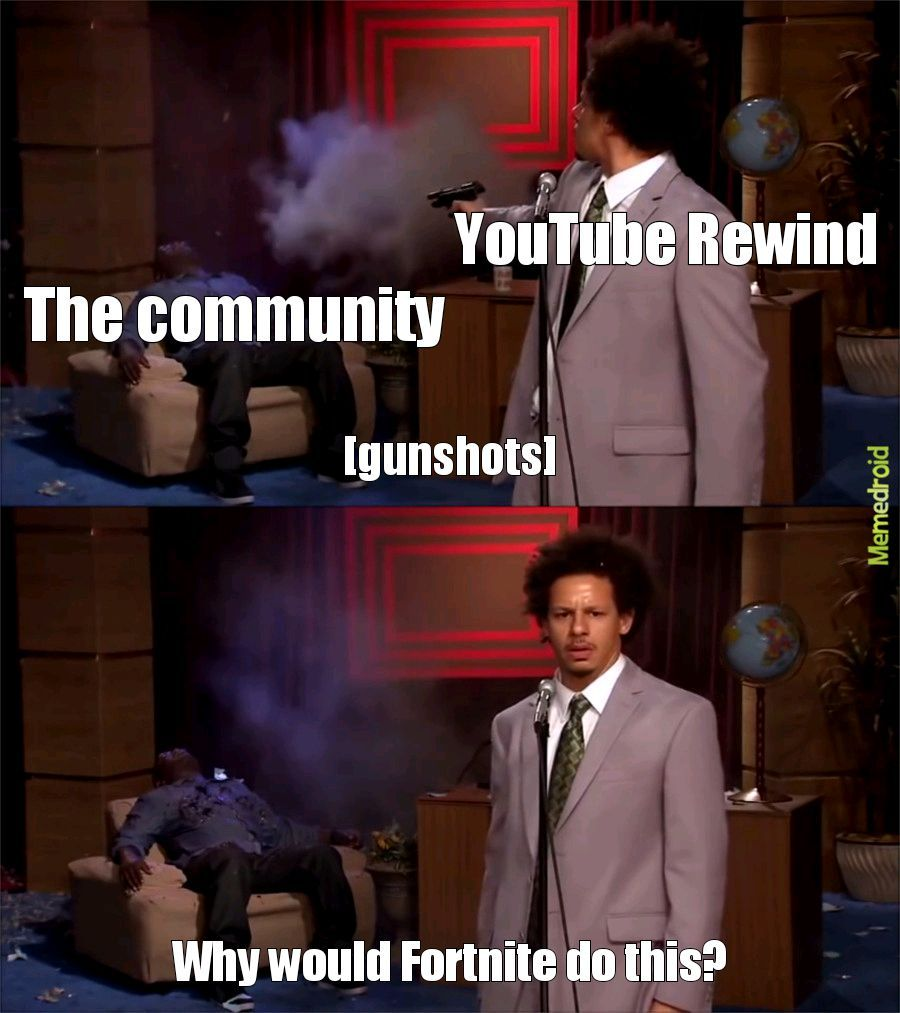Youtube rewind in a nutshell - meme