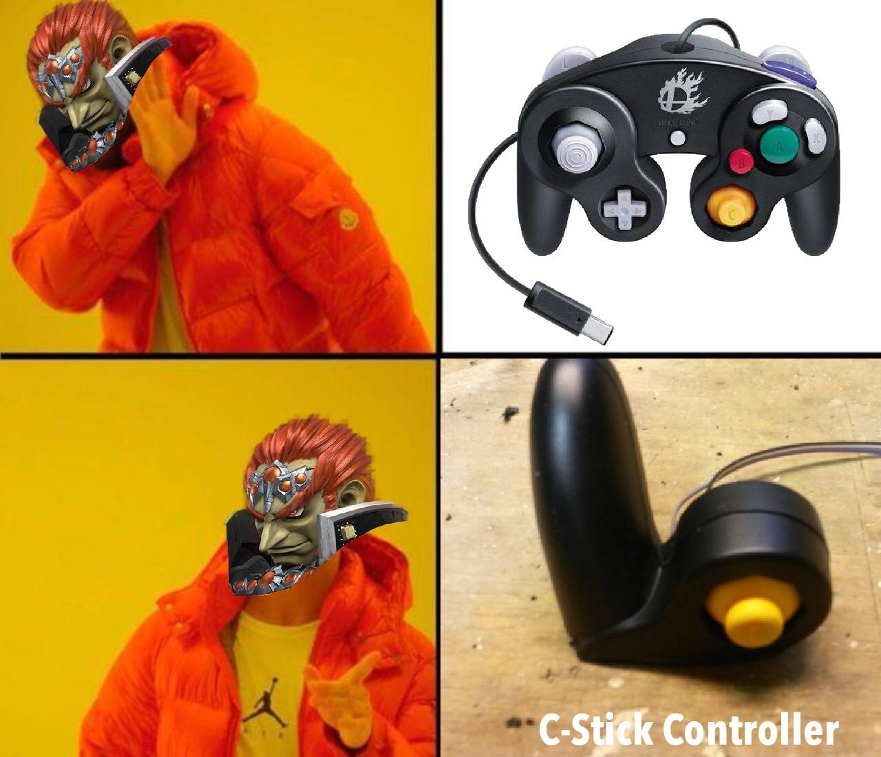 That's how i play ganon - meme