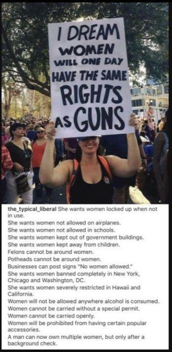 Droit des femmes usa - meme