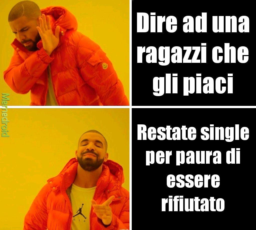 La mia vita - meme