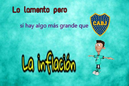 La inflación - meme