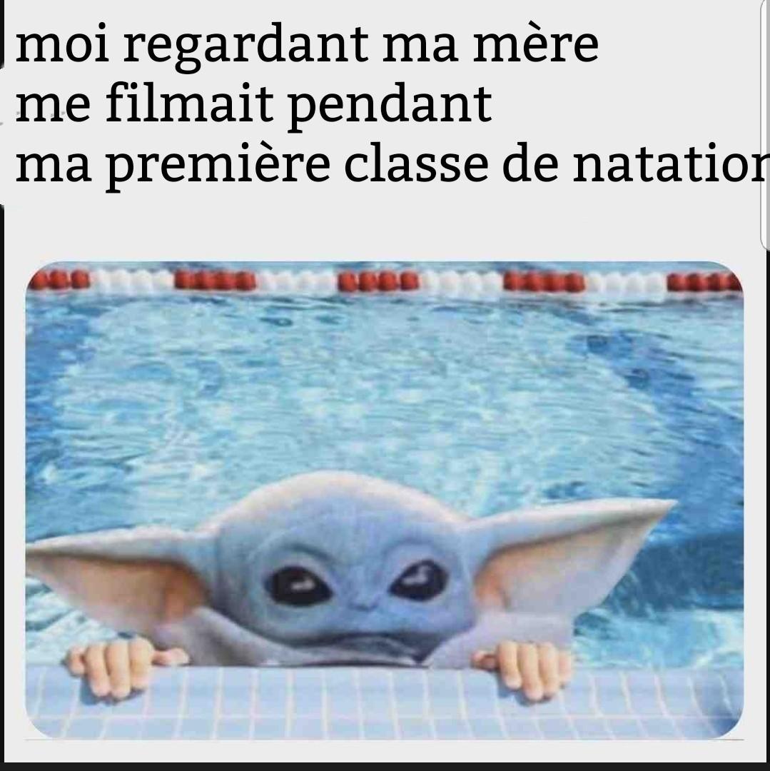 J'espère que tout le monde ici sait nager mouhaha - meme