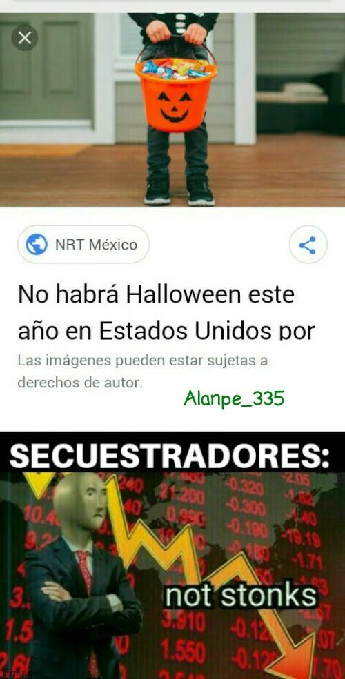 Felíz Halloween - meme