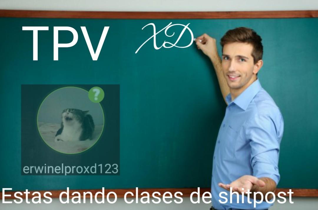 Doy clases de chipos - meme