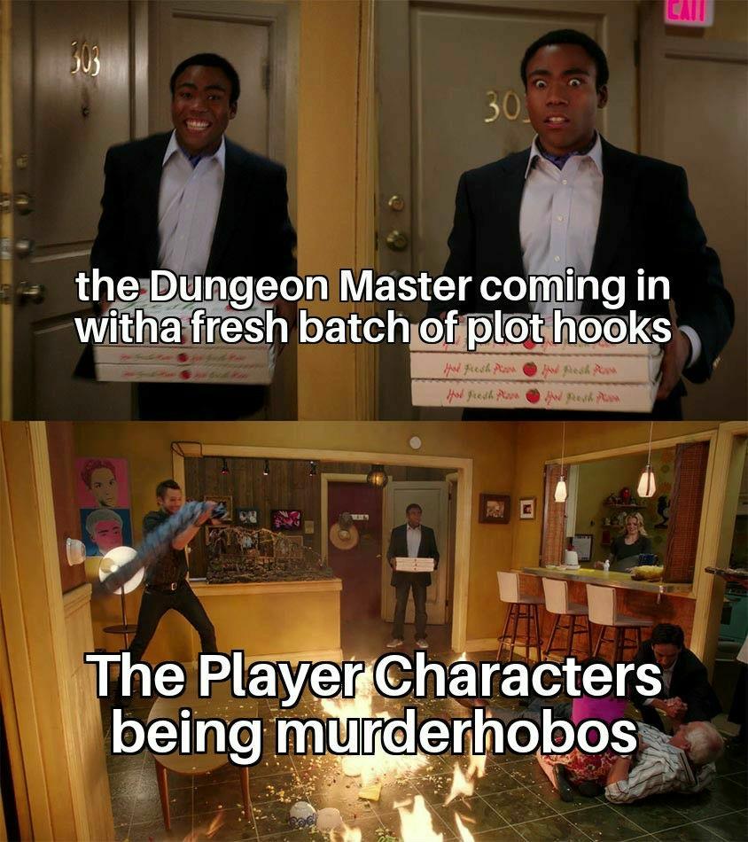 Murderhobos are real! - meme